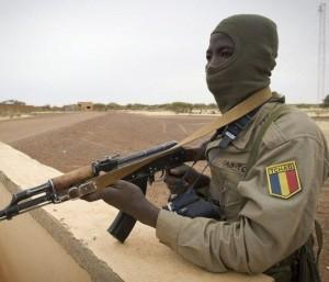 Soldat tchadien au Nord-Mali