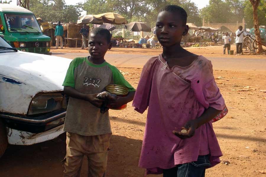 Enfants de rue à Bamako