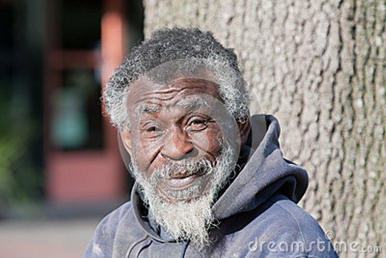 Homme âgé d'Afrique